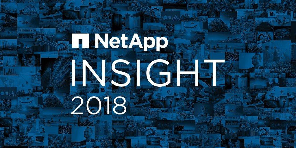 NetApp Insight 2018 Logo